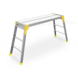 Aluminiowa platforma robocza podest składany 100 x 30 cm domu i ogrodu