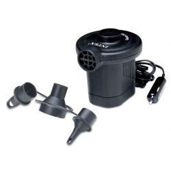 Pompka elektryczna do zapalniczki samochodowej INTEX Quick Fill 12V wymienne końcówki 66626
