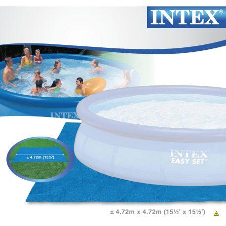 Mata ochronna 472 x 472 cm INTEX pod baseny ogrodowe
