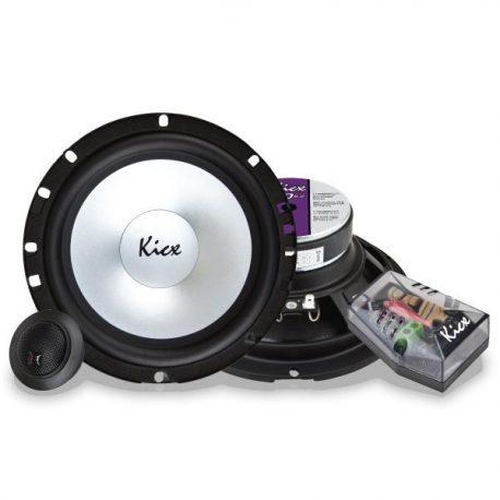 Głośniki samochodowe Kicx PD 6.2 zestaw odseparowany 75W