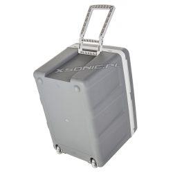 Samochodowa lodówka turystyczna 45L termoelektryczna na kółkach 12V/230V