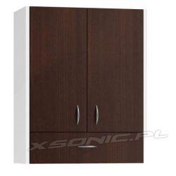Szafka łazienkowa wisząca z szufladą szerokość 60 cm 6 kolorów
