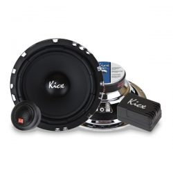 Zestaw głośniki 16,5cm samochodowe Kicx STC 6.2 90W odseparowany zwrotnice