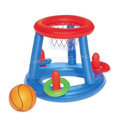 Zestaw gier do basenów ogrodowych ringo koszykówka dmuchana