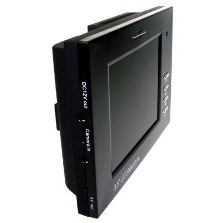 Monitor 3,5 cala serwisowy na rękę do ustawienia monitoringu kamer CCTV pasek na ramię własne zasialnie