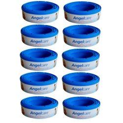 Wkłady do pojemników na pieluchy Angelcare 10 sztuk izolacja zapachów worki do pieluch