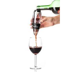 Aerator napowietrzacz do wina Classic zestaw dla smakoszy i koneserów szklany