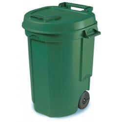 Kosz ogrodowy na odpady pojemność 110L wykonany z wysokogatunkowego plastiku