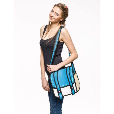Animowana torba 3D na ramię jak z kreskówki do szkoły 2 kolory