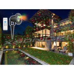 Projektor laserowy różne projekcje do ogrodu oświetlenie domu laser zielony i czerwony LUMENO