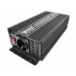 Przetwornica samochodowa z 12V na 230V marki VOLT POLSKA moc 1000/800W pełny sinus
