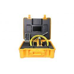 Endoskop z nagrywaniem kamera inspekcyjna z kolorowym wyświetlaczem LCD 7 cali USB 40 metrów przewodu klawiatura