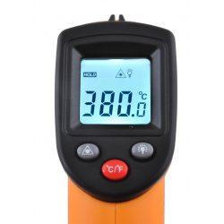 Pirometr termometr podczerwień bezdotykowy temperatura od -50 do +380 stopni Celsjusza