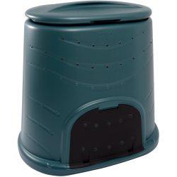 Kompostownik do ogrodu o pojemności 450L niewielkie otwory zapewniają dopływ powietrza