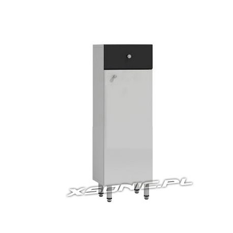 Szafka łazienkowa stojąca szerokość 40 cm wysoki połysk z szufladą