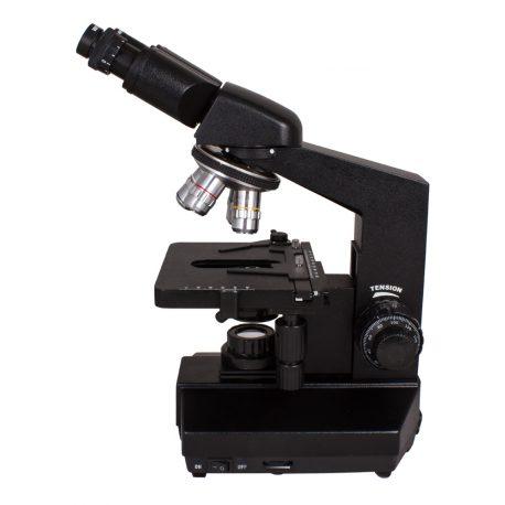 Mikroskop dwuokularowy Levenhuk 850B z regulowanym oświetleniem