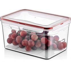 Pojemnik plastikowy 4,5L SAVER BOX zamykany na żywność jedzenie prostokąt z uszczelką