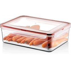 Pojemnik plastikowy 4,3L SAVER BOX zamykany na żywność jedzenie prostokąt z uszczelką