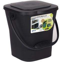 Domowy podręczny mały ekologiczny kompostownik kosz na śmieci szczelny