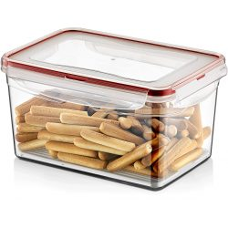 Pojemnik plastikowy 2,4L SAVER BOX zamykany na żywność jedzenie prostokąt z uszczelką
