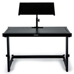 Pulpit dla dj'a muzyka ze statywem pod laptopa