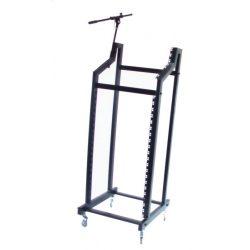 Rack Stand dla profesjonalistów 19 na kółkach na sprzęt nagłośnieniowy