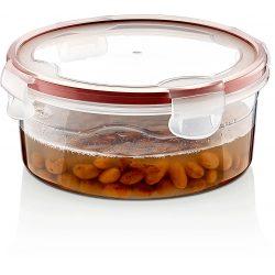 Pojemnik plastikowy 1L SAVER BOX zamykany na żywność do lodówki