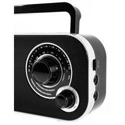 Przenośne radio retro ze skalą rączka wejście na słuchawki Camry CR 1140