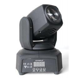 Ruchoma głowa w wersji mini z efektem beam oświetlenie pomieszczeń