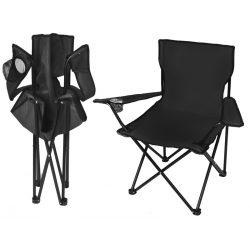 Składane krzesło wędkarskie na ryby wygodne i stabilne 3 kolory do wyboru