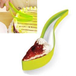 Łopatka i nóż do krojenia i nakładania ciasta 2w1 chwytak