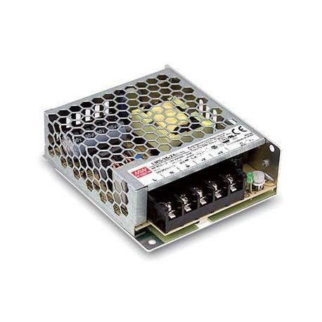 Jednowyjściowy zasilacz przemysłowy do LED 12V 6A 72W 1U Mean Well