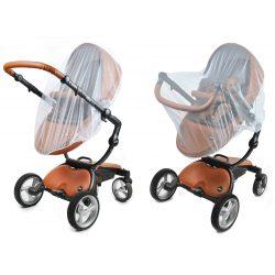 Moskitiera uniwersalna na wózek spacerowy i do gondoli naciągana z gumką