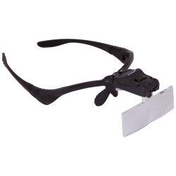 Okulary powiększające lupa na głowę Levenhuk Zeno Vizor G3 pięć poziomów powiększenia
