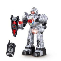 Strzelający robot bitewny RC zdalnie sterowany z tarczą obronną