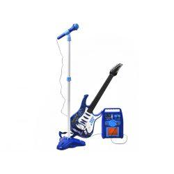 Gitara elektryczna z mikrofonem i wzmacniaczem dla dzieci 2 kolory