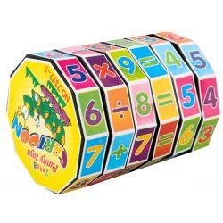 Walec dodawalec matematyczny dla dzieci nauka liczenia tabliczki mnożenia