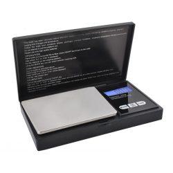 Precyzyjna waga jubilerska kieszonkowa 200g/0,01g na baterie zamykana z klapką
