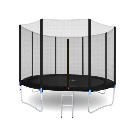 Trampolina ogrodowa 305cm 10ft drabinka siatka zewnętrzna 4 nogi