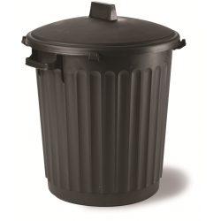 Ogrodowy kosz na śmieci i odpady pojemność 80 litrów ECO odporny na uszkodzenia