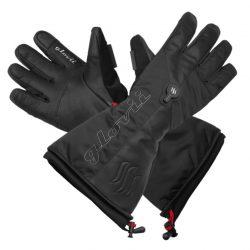 Ogrzewane rękawice narciarskie GLOVii membrana Hypora z tkaniną Thinsulate obsługa ekranów dotykowych