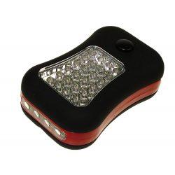Lampa warsztatowa LED 24 + 4 diody LED z uchwytem do zawieszenia i magnesem