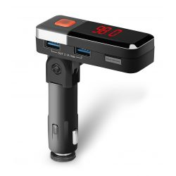 Samochodowy transmiter bluetooth VORDON B71 redukcja szumów i echa port USB