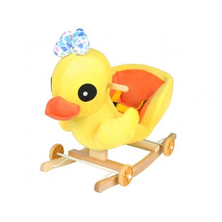 Bujak wesoła kaczka jeździk na biegunach 2w1 gra melodyjkę