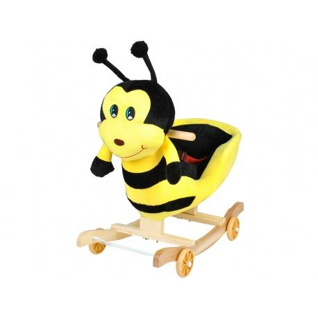 Bujak wesoła pszczółka jeździk na biegunach 2w1 gra melodyjkę