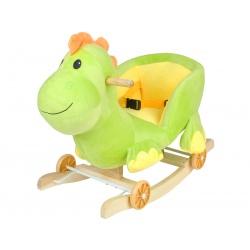 Bujak jeździk na kółkach biegunach wesoły dinozaur 2w1 gra melodyjkę