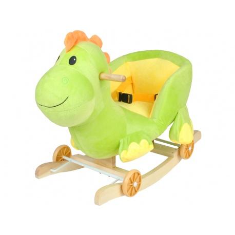 Bujak wesoły dinozaur jeździk na biegunach 2w1 gra melodyjkę