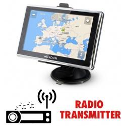 """Multimedialna nawigacja GPS Vordon 5"""" Mapa Polski i Europy 42 kraje pamięć 8GB dożywotnia aktualizacja gry"""