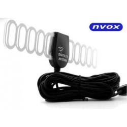Uniwersalna antena samochodowa NVOX do odbioru sygnału DVB-T wzmacniacza do 28 dB