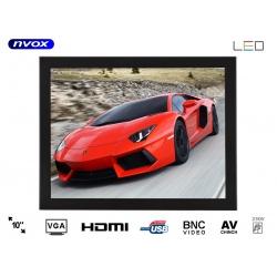 Monitor do zabudowy OPEN FRAME marki NVOX matryca 10 cali VGA HDMI USB BNC AV